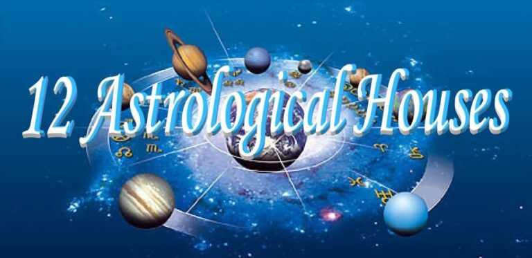 The 12 Houses in Astrology and their Significance