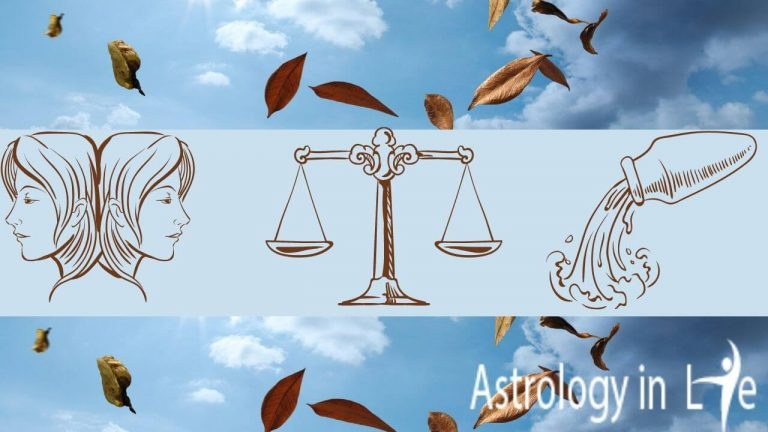 Everything know about Air Zodiac Signs