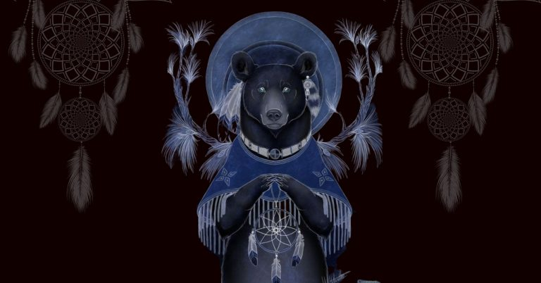 The Bear Totem in Native American Astrology