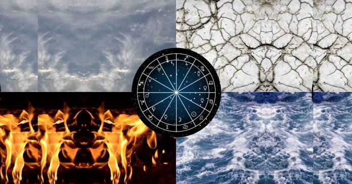 Four elements in astrology