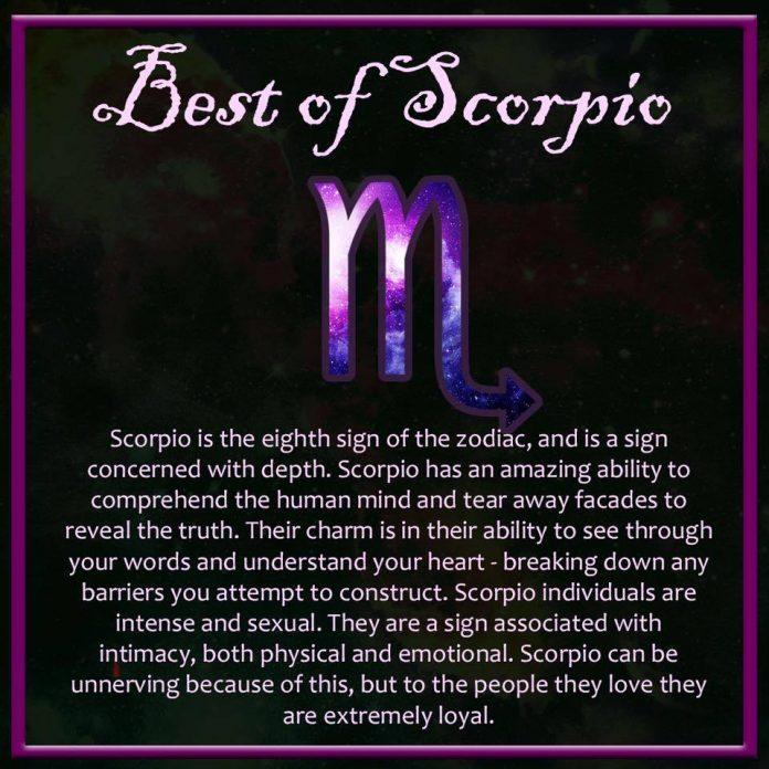 Scorpio Water Zodiac