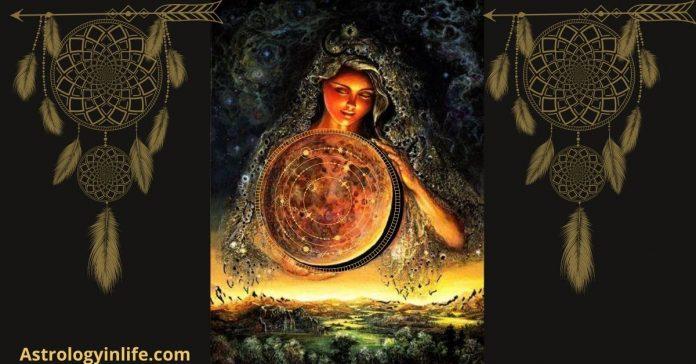 American Astrology Wheel